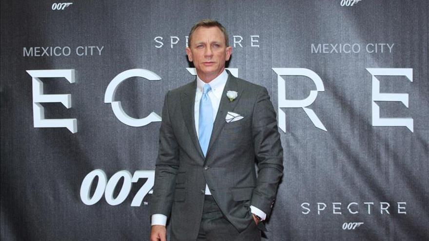"""La última entrega de la saga James Bond, """"Spectre"""", en los cines"""