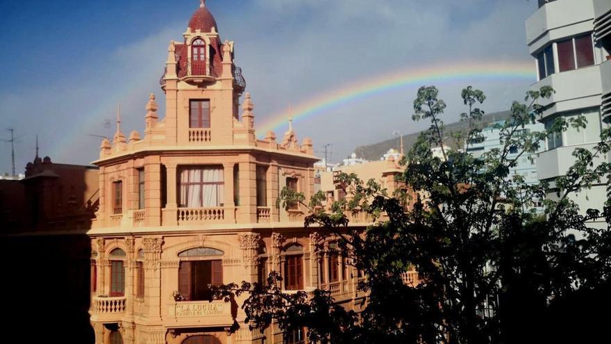 Tiempo de rebequita y paraguas para este sábado en Tenerife