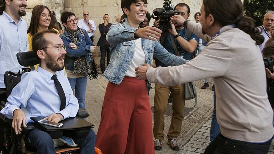 Violeta Barba (Podemos), elegida presidenta de las Cortes de Aragón