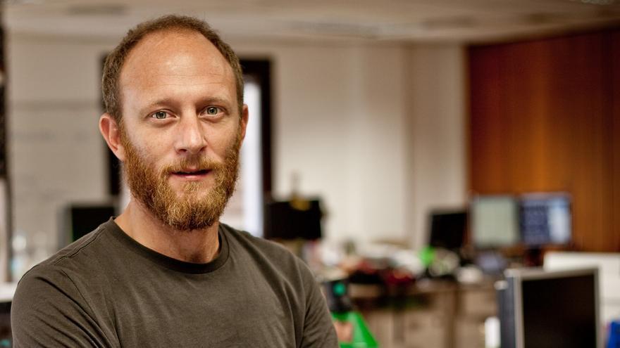 Pablo Tosco, uno de los tres directores del documental District Zero y miembro de Oxfam.