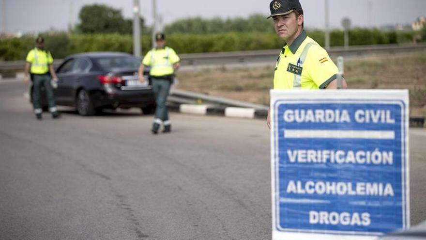 Un control de la Guardia Civil