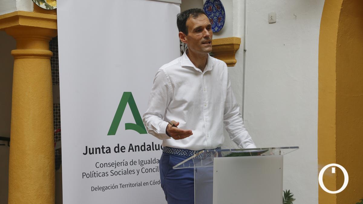 El delegado territorial de Igualdad, Políticas Sociales y Conciliación en Córdoba, Antonio López