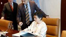 González Laya se reúne en Nueva York con los máximos dirigentes de la ONU
