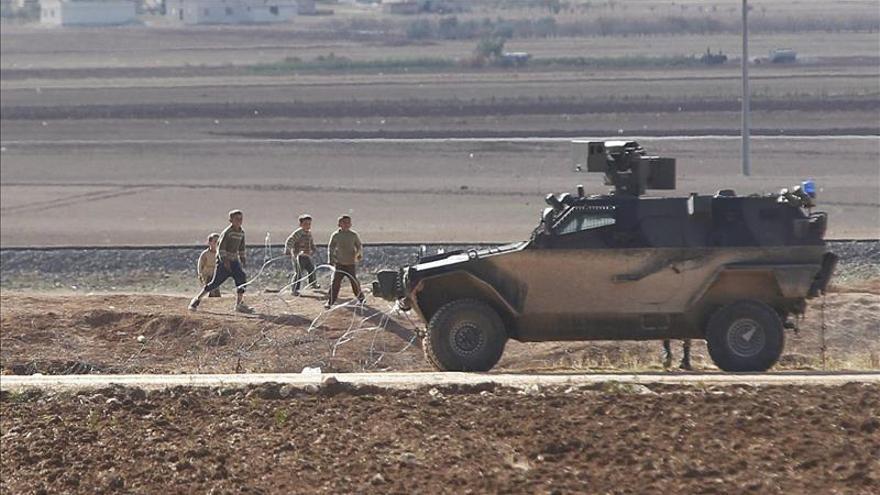 Mueren 5 yihadistas en combates con milicianos kurdos en Kobani