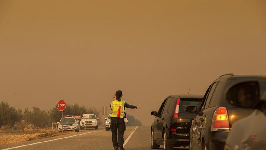 El incendio de Culla ha quemado más de 50 hectáreas, según primera estimación