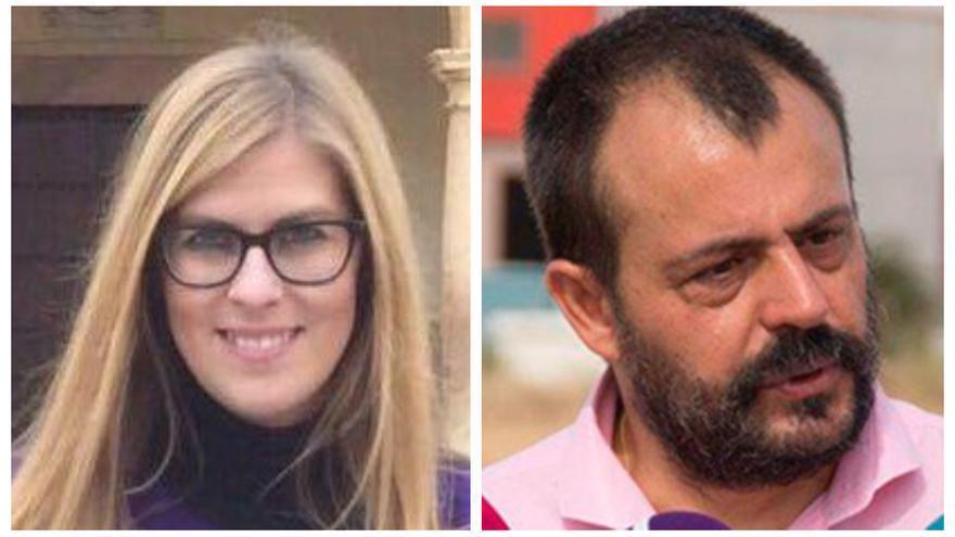 María Pérez Segovia, candidata en Albacete y Juan Andrés García en Guadalajara