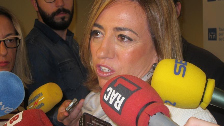 "Chacón ve a Sánchez como ""único presidente progresista"" posible y se abre a pactos"