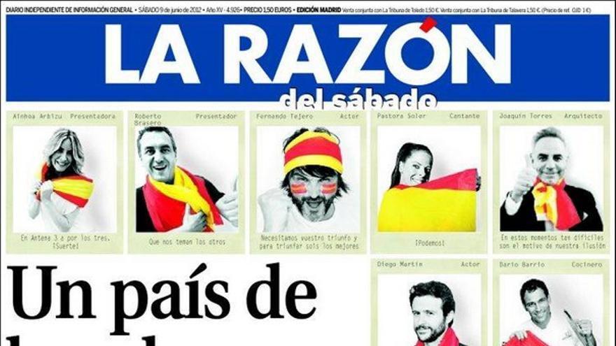 De las portadas del día (09/06/2012) #9