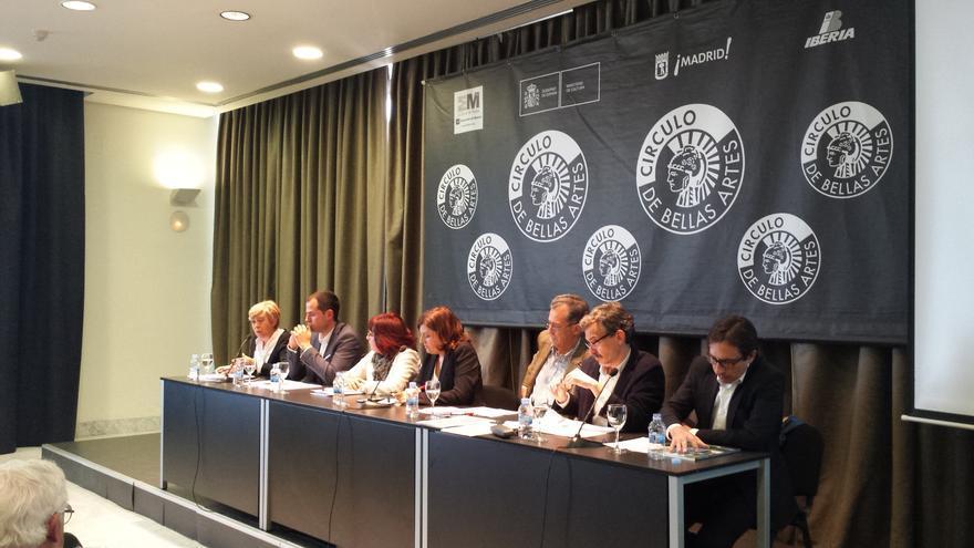 Los participantes en el debate entre candidatos a la Comunidad de Madrid / Stéphane M. Grueso