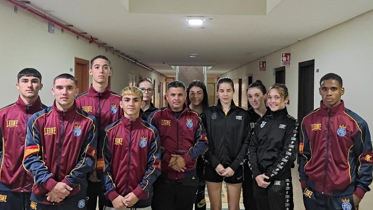 Selección española joven de boxeo