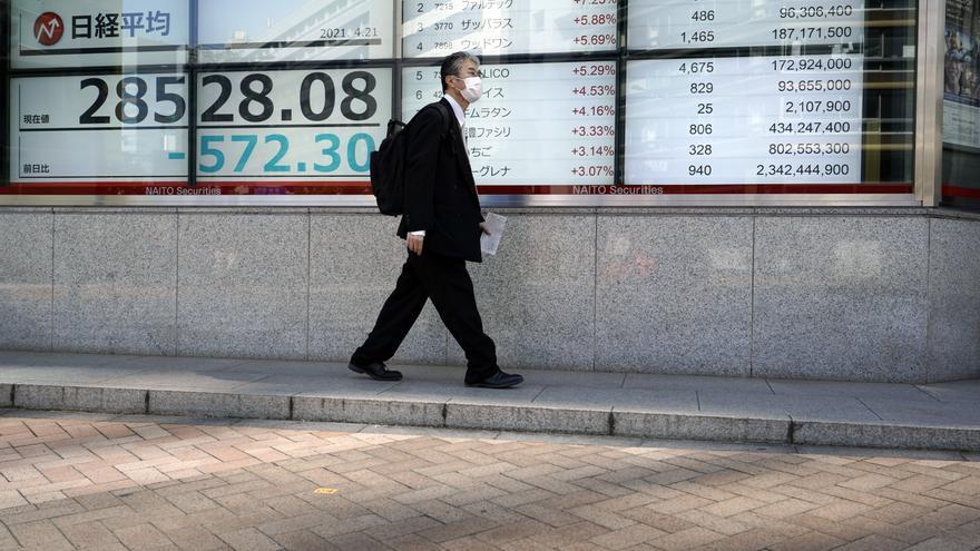 El Nikkei baja un 0,07 % por la preocupación de propagación de nuevas cepas