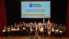 Agricultura entrega los premios de Agrocanarias 2017 en una gala celebrada en Arucas con recuerdo a Pedro Molina