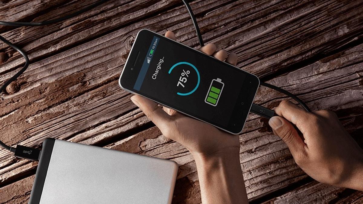 Carga rápida en móviles Android.