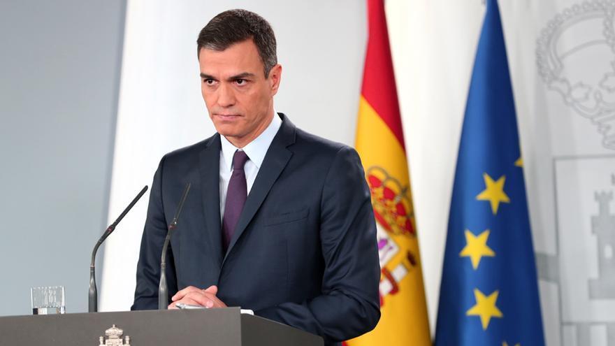 Pedro Sánchez anuncia adelanto electoral