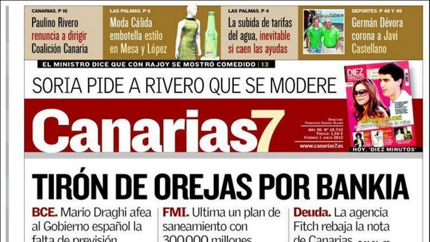 De las portadas del día (01/06/2012) #1
