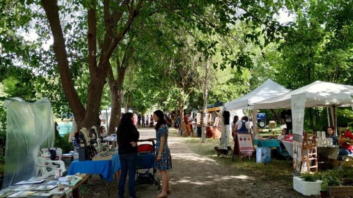 Feria de Ecología de Albacete, en una edición anterior