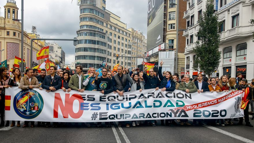 """El Gobierno veta la ILP de Jusapol por ser """"insostenible"""" ligar los sueldos de policías con autonomías y municipios"""