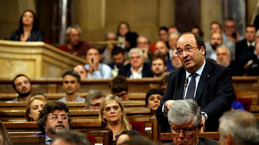 """El PSC ve """"desproporcionada"""" la prisión para los exconsellers de la Generalitat"""