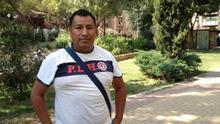 Adolfo, peruano de 36 años, pide más actividades gratuitas para poder pasar el verano. / Fotografía: S. H.