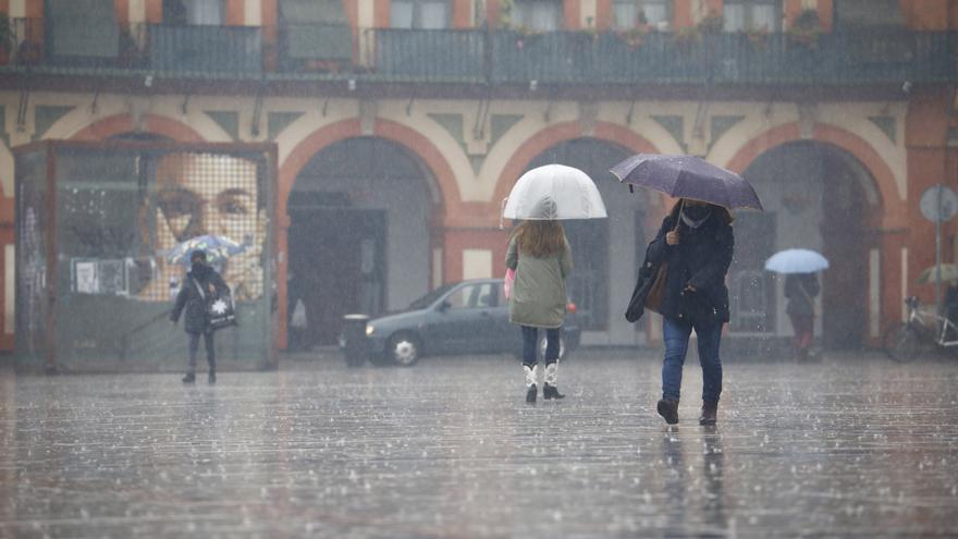 Lluvias y chubascos hoy en amplias zonas de la península