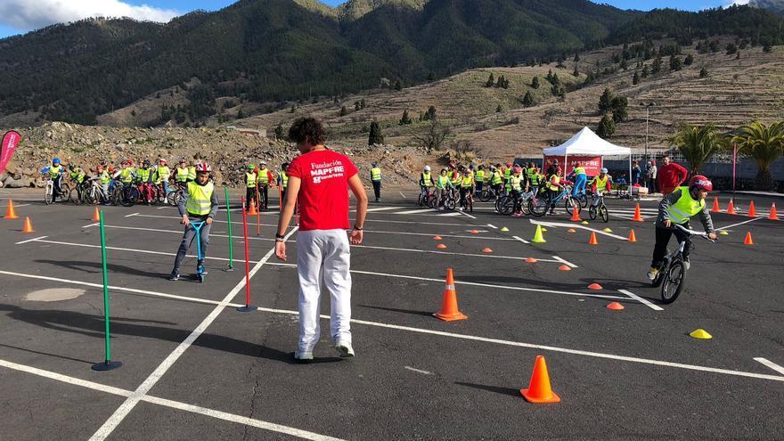 El programa de actividades de las VII Jornadas de Seguridad Vial de El Paso incluye un circuito de habilidades.