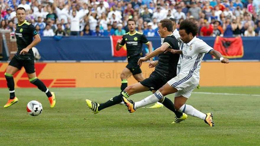 El Real Madrid-Chelsea domina con un 20.6% en Antena 3