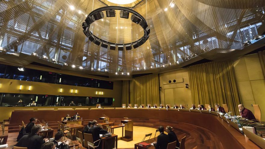 Sesión del Tribunal de Luxemburgo / Corte Europea de Justicia