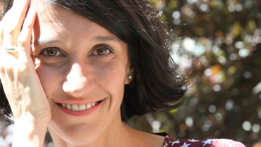 Carola Pérez, presidenta del Observatorio Español de Cannabis Medicinal y usuaria de cannabis terapéutico.