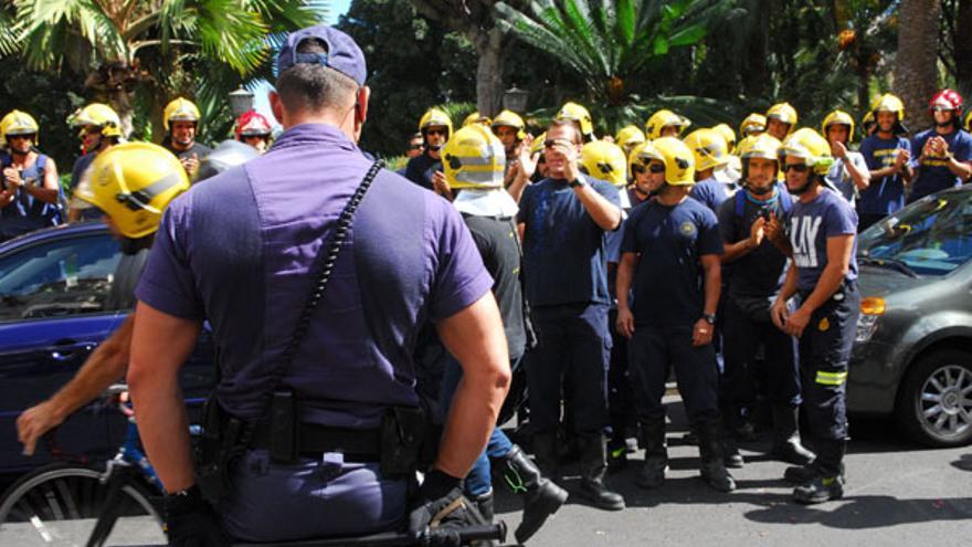 De la protesta de los bomberos #1