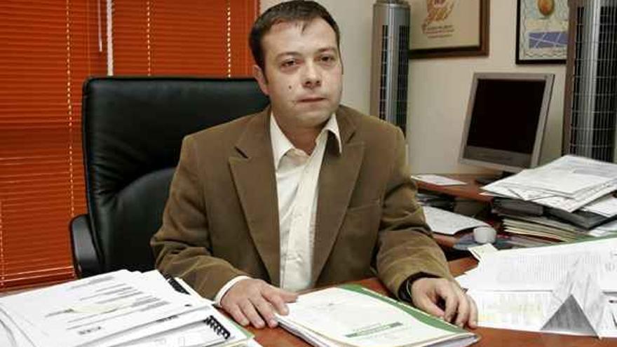 César Martín, director general de Agricultura en el Gobierno de Canarias, en una imagen de archivo