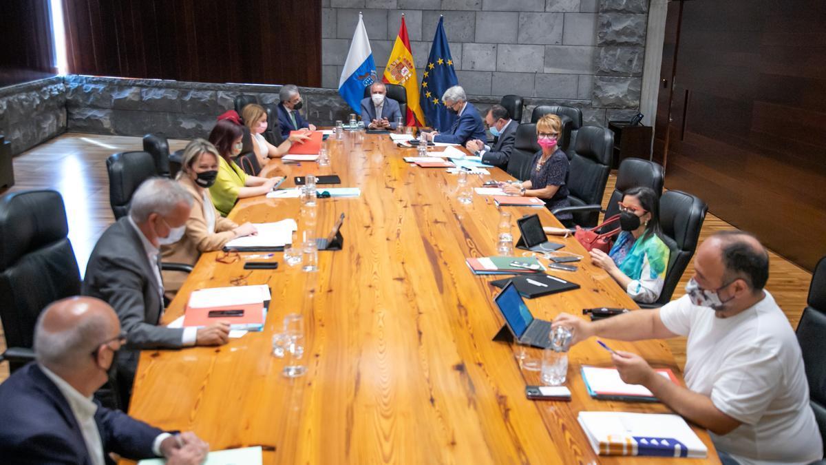 Reunión del Consejo de Gobierno este jueves.
