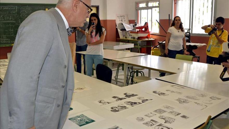 La Palma homenajea a Blahnik y da su nombre a la escuela de arte