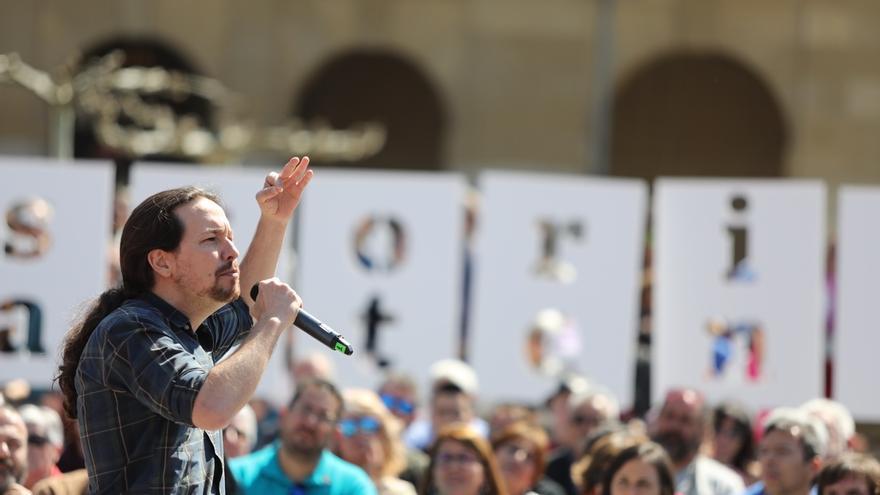 """Pablo Iglesias afirma que """"ha habido una trama criminal"""" para """"destruir la democracia en España"""""""