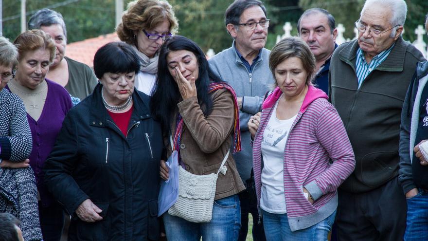 La exhumación de los cuerpos de los guerrilleros, que se llevó a cabo el 24 de octubre de 2016