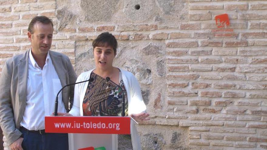Aurelio San Emeterio y Carmen María Duarte, Izquierda Unida Toledo