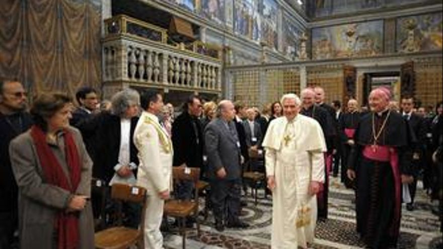 """El Papa pide a 260 artistas de todo el mundo que colaboren en transmitir """"esperanza"""""""