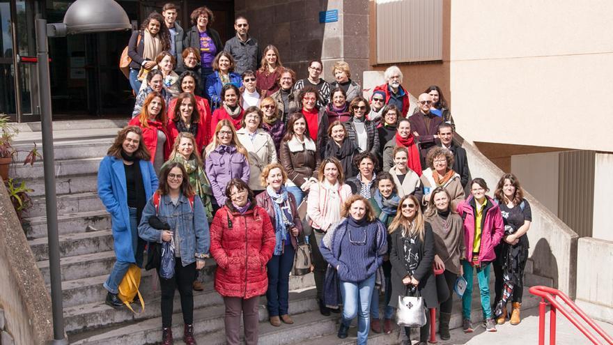 Grupo de mujeres que han participado en la iniciativa de la ULL