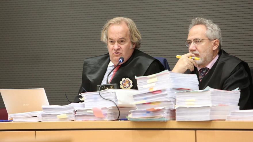 Sesión del juicio del caso Unión
