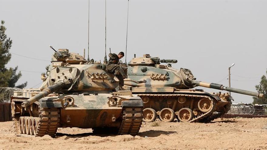EE.UU. intenta poner paz entre sus aliados en el norte de Siria