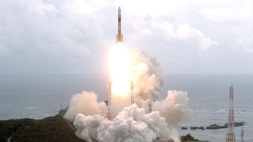 Japón lanza con éxito un satélite meteorológico de alta precisión