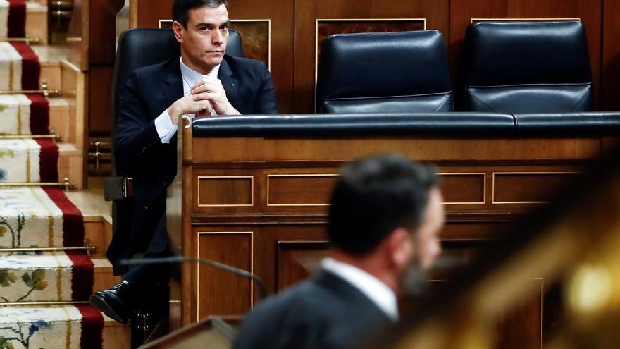 """Abascal no coge el teléfono a Sánchez y acusa al Gobierno de ser """"responsable"""" de los 11.000 muertos"""