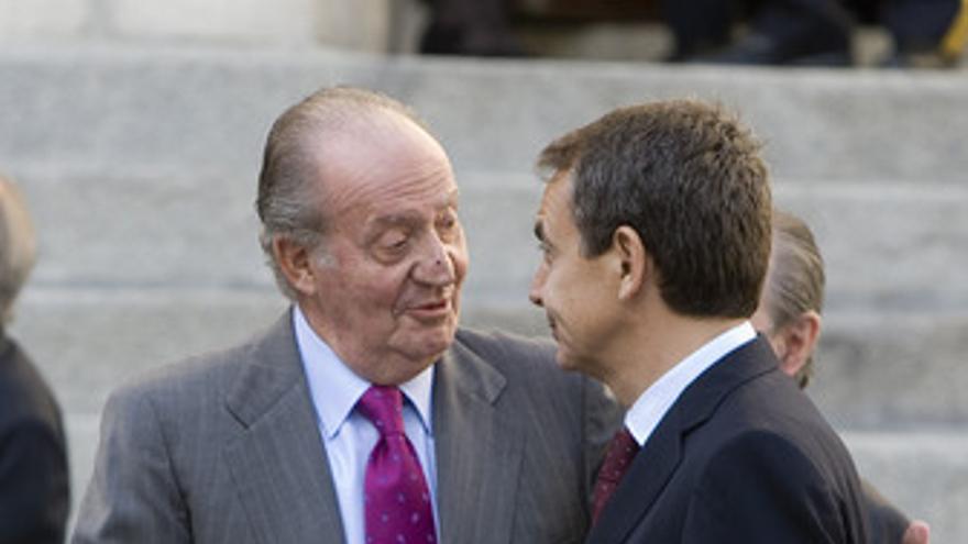 Zapatero y el Rey