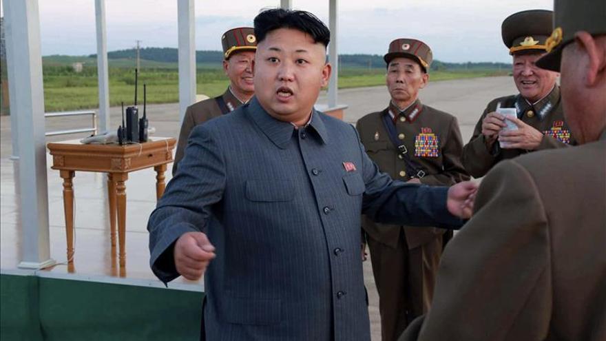 """Kim Jong-un califica a los estadounidenses como """"caníbales y asesinos"""""""