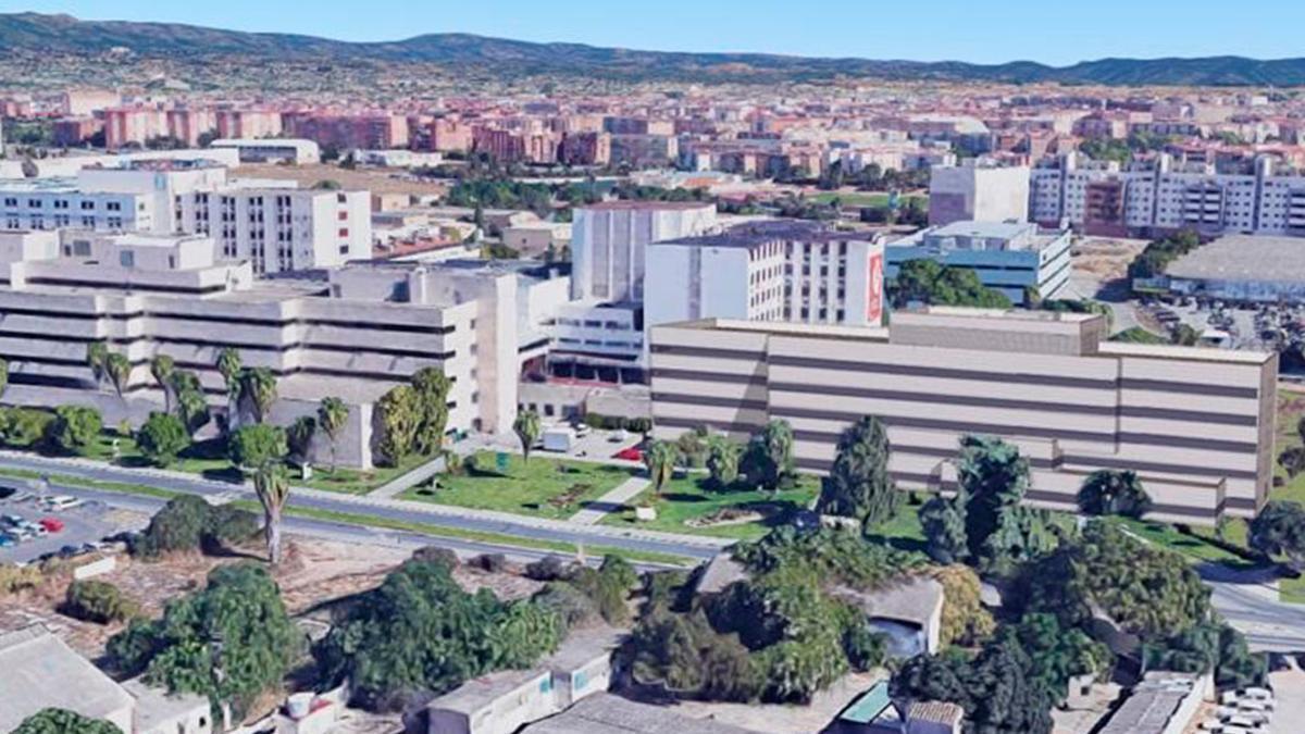 Hospital Reina Sofía.