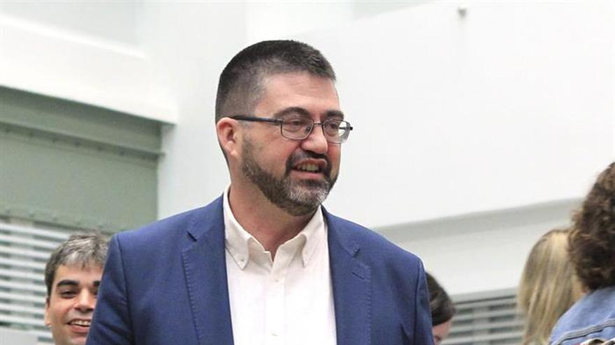 El concejal de Ahora Madrid, Carlos Sánchez Mato