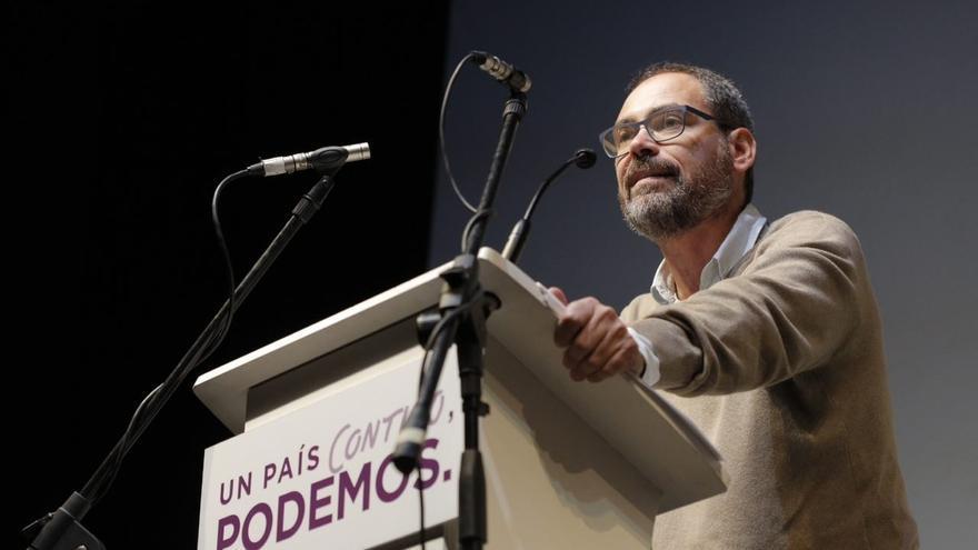 """Montero (Podemos) dice que sería """"un honor"""" volver a ser cabeza de lista al Congreso por Málaga"""