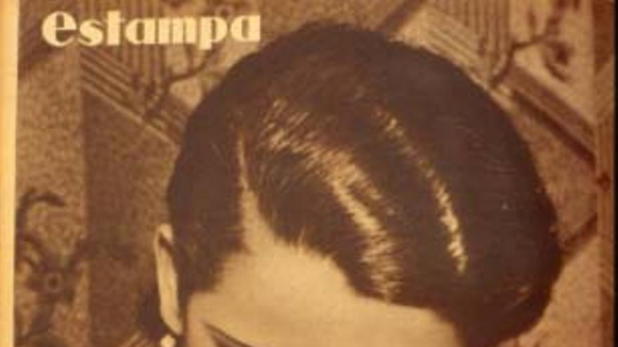 Contraportada de la revista 'Estampa' del 24 de marzo de 1934.