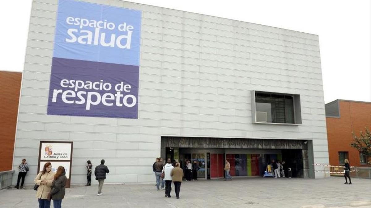 El Hospital Río Hortega de Valladolid, en una imagen de archivo. EFE