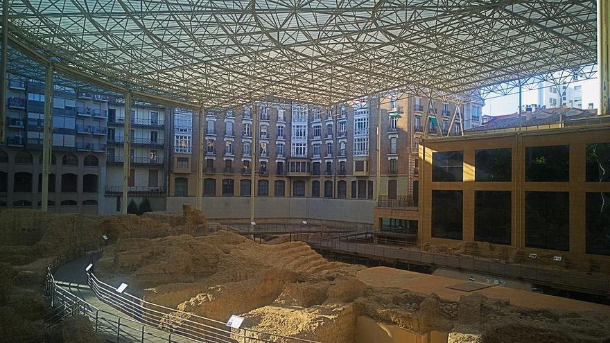 El museo del Teatro de Caesaraugusta recibió 46.647 visitantesen 2018