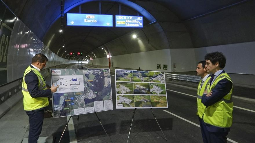 Rementeria destaca que la nueva autovía entre Gerediaga y Elorrio mejorará la competitividad de empresas de la comarca